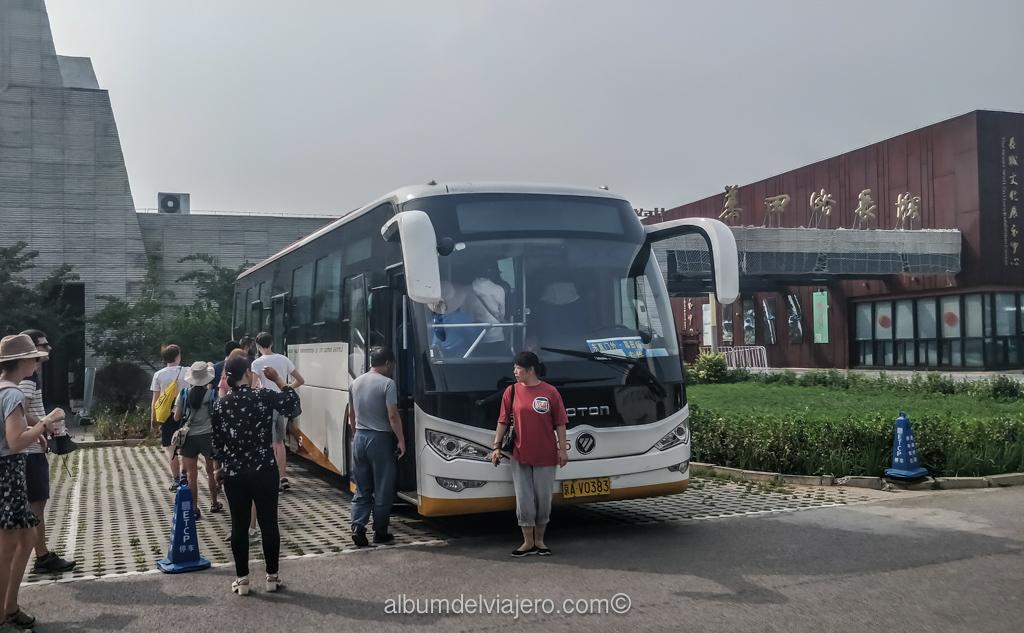 Cómo llegar en transporte público a la Muralla China Mutianyu