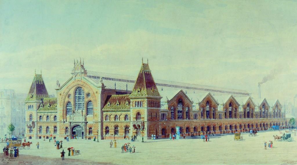Mercado Budapest 1896