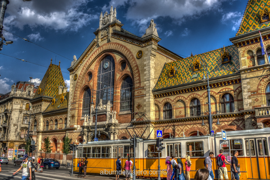 Mercado Central Budapest HDR
