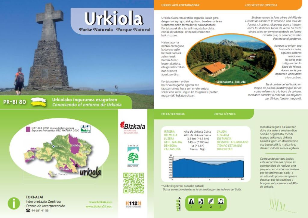 Ruta PR-BI 80 Parque Natural de Urkiola