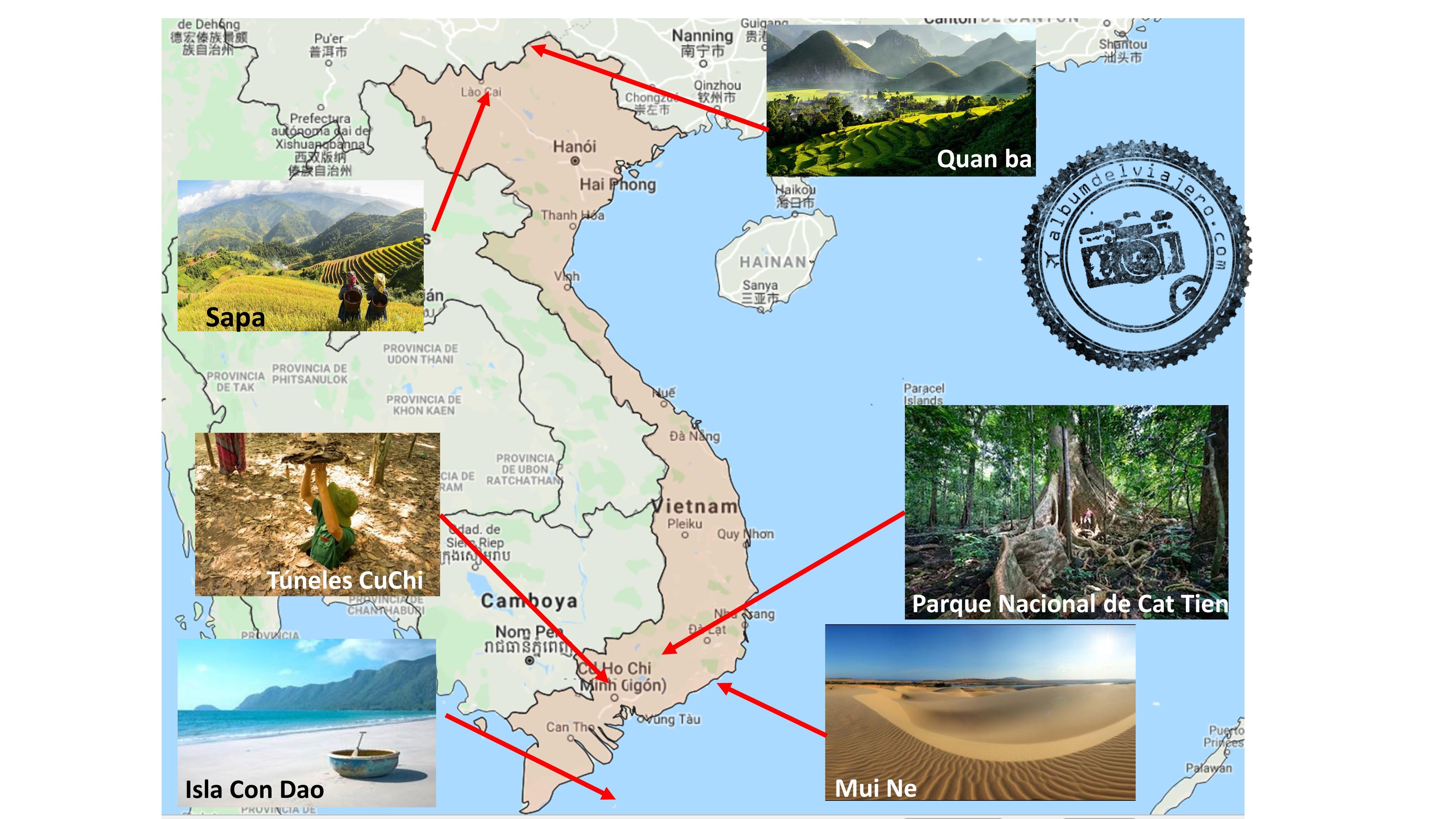 Top imprescindibles Vietnam