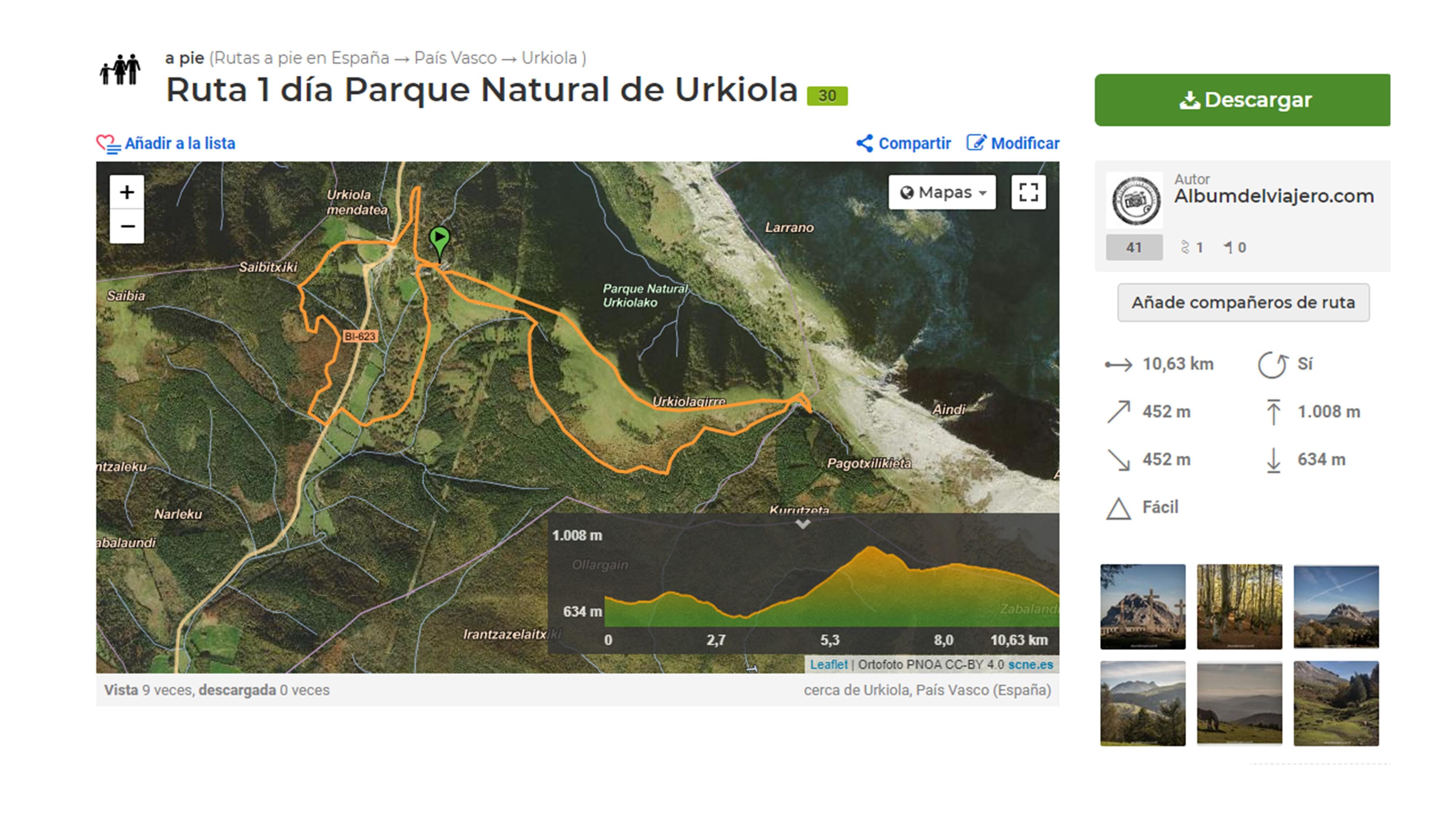 Ruta 1 día Parque Natural Urkiola